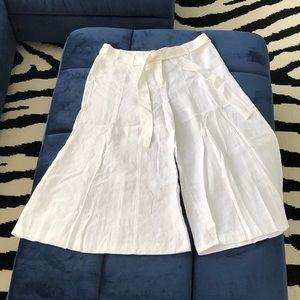 Victoria Secret London Jean Chino Linen Pant